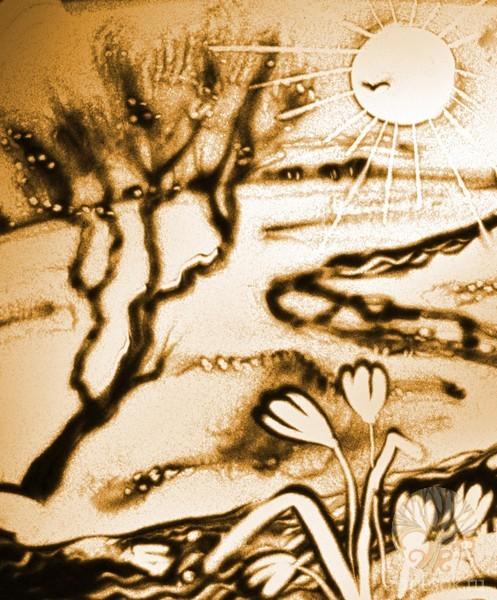 Песочные картины