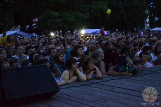 Кириллов. Выступление на Дне города