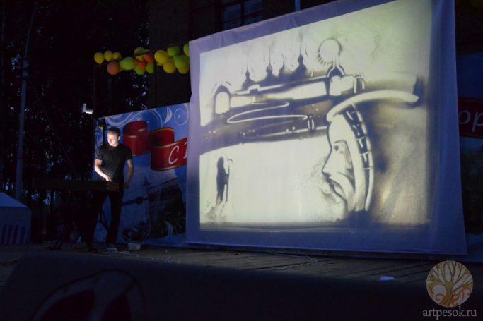 Фото с выступлений художника Всеволода Вахрамеева 25