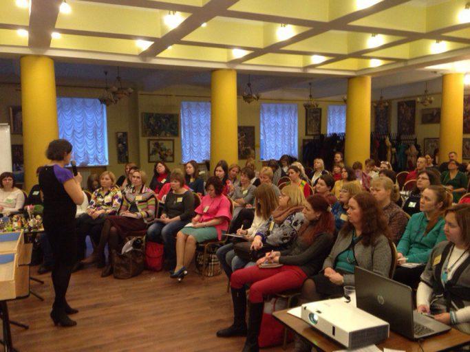 На II-м Всероссийском фестивале песочной терапии в Санкт-Петербурге